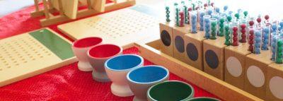 materiales montessori para primaria
